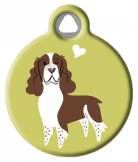 English Springer Spaniel Doggie Tag