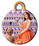 Grocery Gal Pal Pinup Dog Tag
