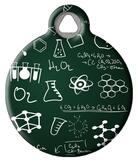 Black Board Science ID Tag