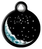 Retro Moon and The Stars ID Tag
