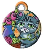 Knitty Kitty ID Tag