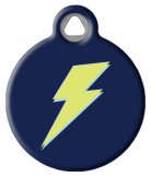 Lightning Pet ID Tag