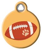 Football Pet ID Tag